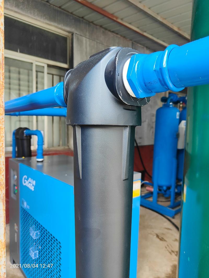 永磁变频空压机超级管道
