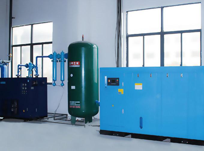 为什么螺杆空压机要和冷干机搭配使用?