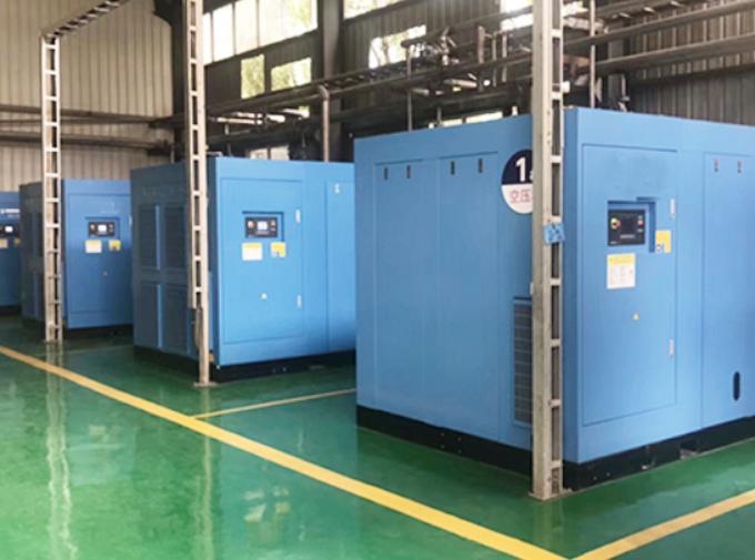 浙江某模具廠永磁變頻空壓機使用案例